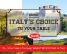 Barilla Contest For Canada – Win Trip To Italy