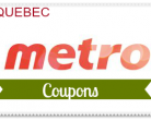 Metro Quebec Facebook Coupon Plus Weekly Printables
