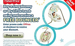 Babies R Us Coupon Code – Free Bouncer With Swing Purchase