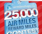 Air Miles Contests – Win 25 000 FREE Air Miles!!