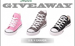 Zelen Canada Giveaway Win Converse Shoes
