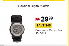 Future Shop Daily Deal – Save $45 Off Cardinal Watch Plus Holiday Toy Sale!!