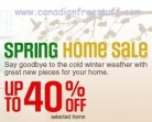 Sears Spring Home Sale Plus Baby Days Continues