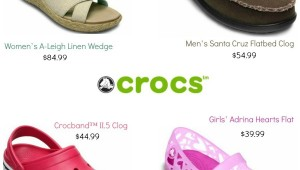 Crocs coupons – Save $20 Off $100+