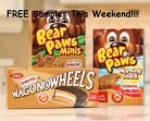 Dare FREE Samples Morning Snack & Wagon Wheels(Cineplex)